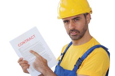 договор подряда на строительство дома