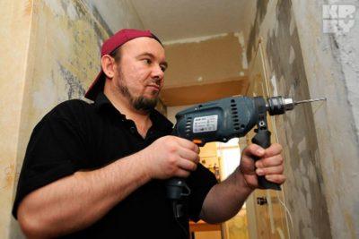 время строительных работ в жилом доме
