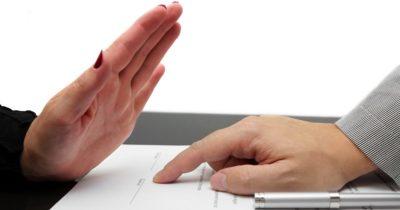 отказ от кредита после подписания договора