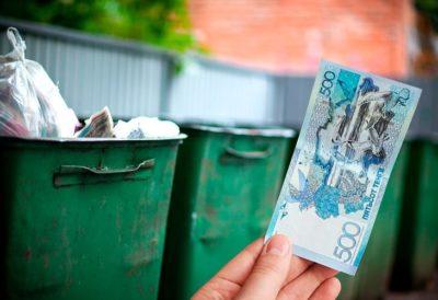 как не платить за мусор