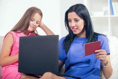 где должны быть прописаны несовершеннолетние дети