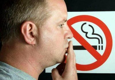 что будет за курение в общественном месте