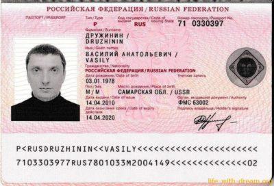 номер паспорта сколько цифр